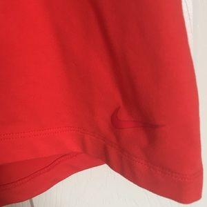 Nike Tops - Red Nike Dri-Fit Razorback Tank